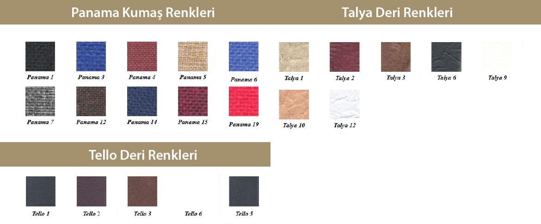 panama tello talya renk seçenekleri