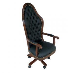 ahşap yönetici koltuğu