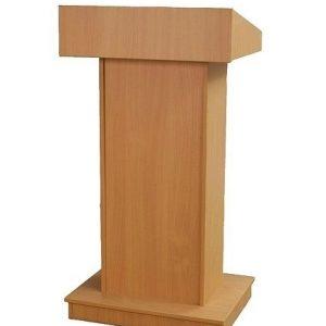 ahşap konuşma kürsüsü