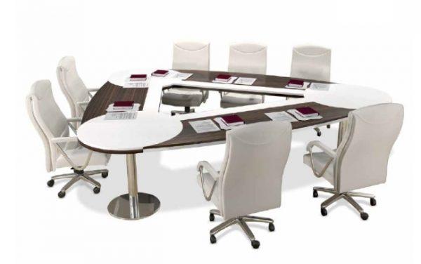 selas üçgen toplantı masası