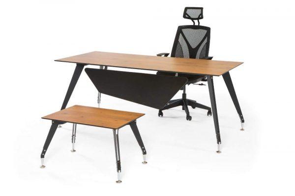 moden metal ayaklı ofis masası
